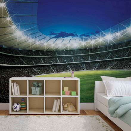 Giant non-woven wallpaper mural Football Stadium 323